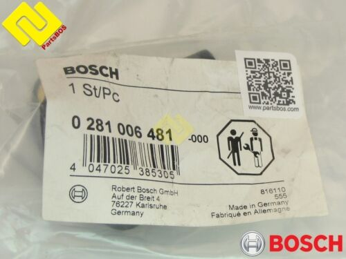 Genuine BOSCH 0281006481 0281002468 BOOST PRESSURE SENSOR MAP for A0041537028