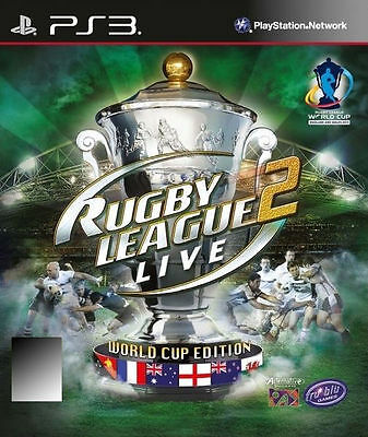 Brand New & Sealed-Rugby League Live 2 World Cup Edition PS3 Game/Playstation