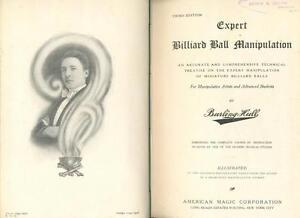 Burling-Hull-Billiart-Ball-Manipulation-Sleights-33-Rope-Ties-Art-of-Stage