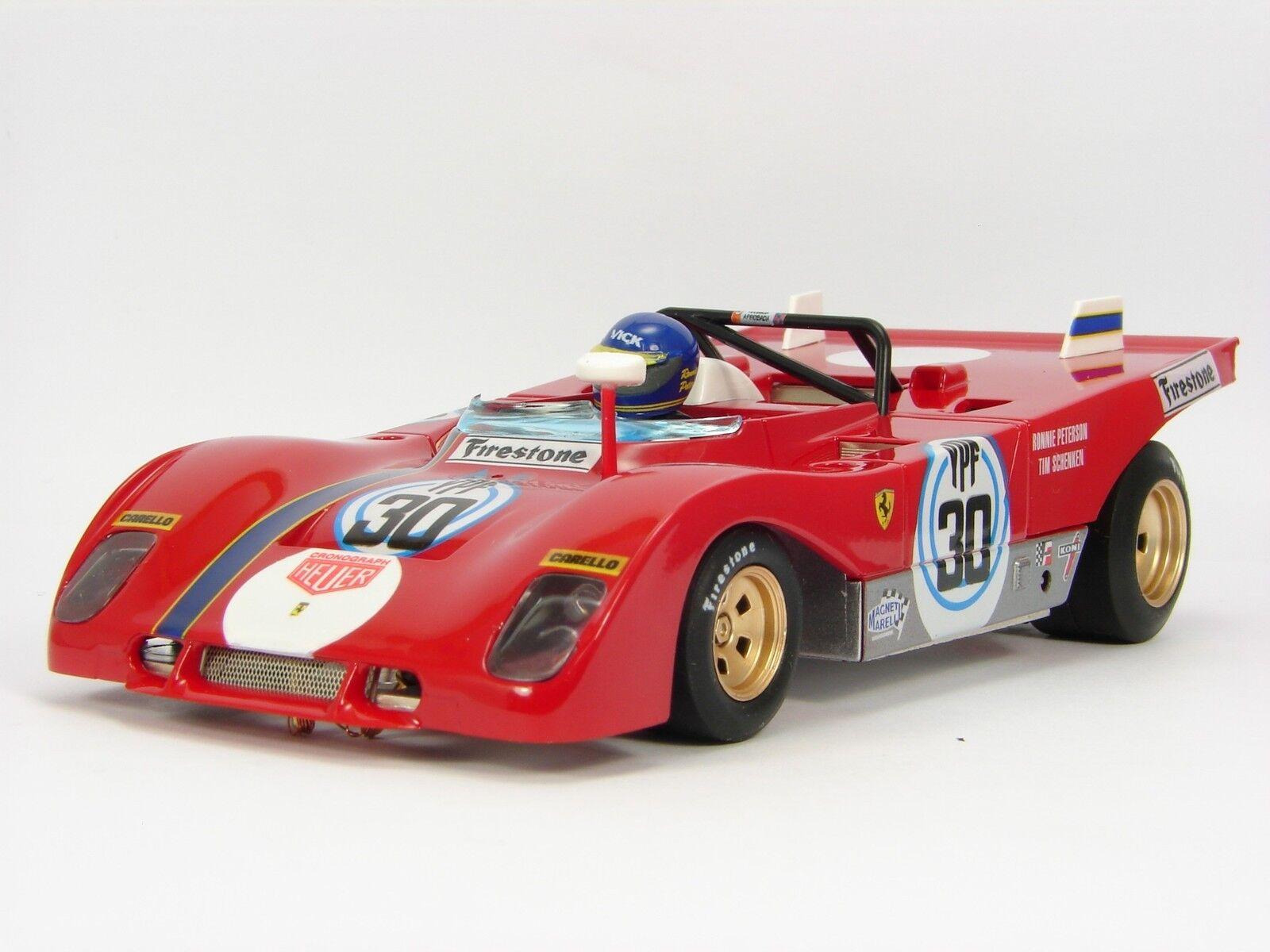 SLOT SRC OSC REF. 03101 Ferrari 312PB Buenos Aires 1000 km. 1 32 Neu