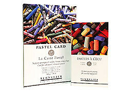 "Sennelier Soft Pastel Set of 20 Half Stick and La Carte Pad 6.25x9.25/""/"""