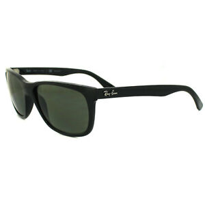 a199b7f514 Image is loading RayBan-Sunglasses-4181-601-9A-Black-Polarized-Green