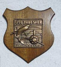 US Navy USS Thresher SSN 593 Submarine Presentation Plaque Hand Made in USA