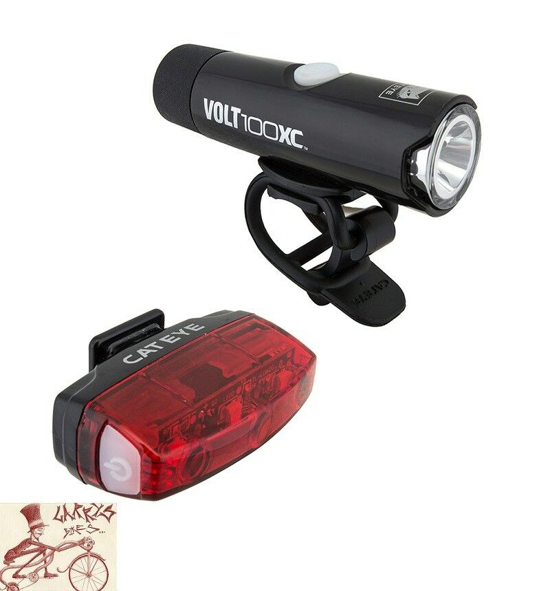 CATEYE  Volt 100 XC Rapid  Micro COMBO FRONT AND REAR BICYCLE LIGHTS  sell like hot cakes
