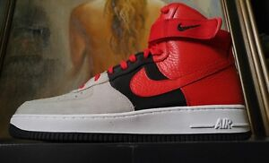 10d9d182fd6 Nike Air Force 1 High  07 LV8 size 11.5 wolf grey university red ...