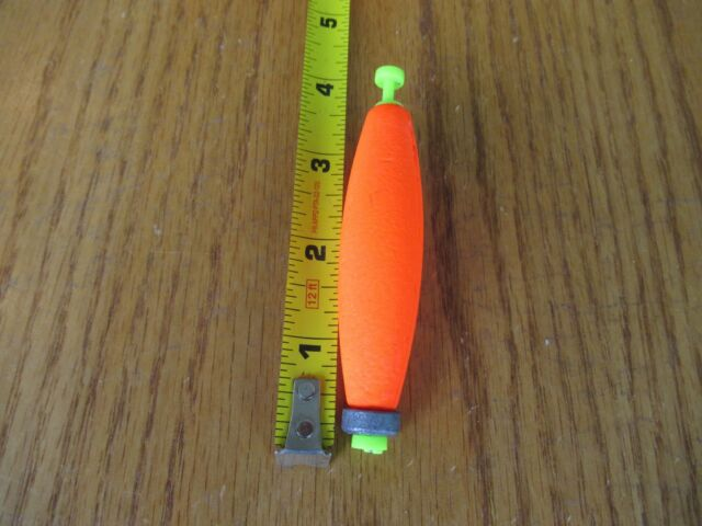 """Chart Foam SNAP ON FLOAT 24  1.50/"""" FISHING BOBBERS Round Weighted Floats Flo"""