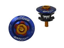 1 NEW BIKE BICYCLE HANDLE BAR HEADSET STEM STAR NUT 28.6mm AL 6061 TOP CAP PINK
