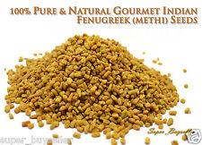 100% PURE & NATURAL GOURMET INDIAN FENUGREEK (METHI) SEEDS--50g