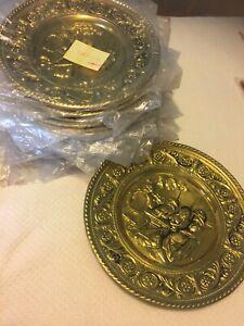 Peerage Brass Wall Plate Decor Made In England Ebay
