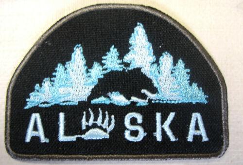 Un écusson Alaska Patch USA Canada