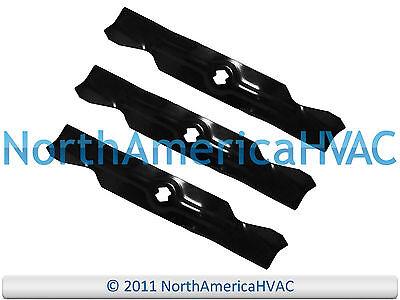 """1 Set of 3 Blades 50/"""" Deck Cut Troy Bilt Mustang XP RZT-50 942-04053C"""