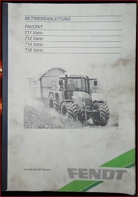 816810020010 FENDT VARIO FARMER FAVORIT DACH TRAKTOR 1993-2000 OE