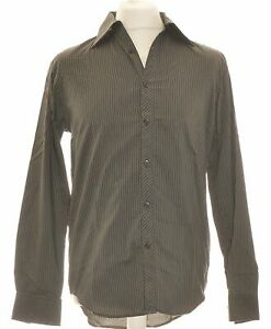 Chemise Manches Longues Jules Taille 38 - T2 - M Vert Homme