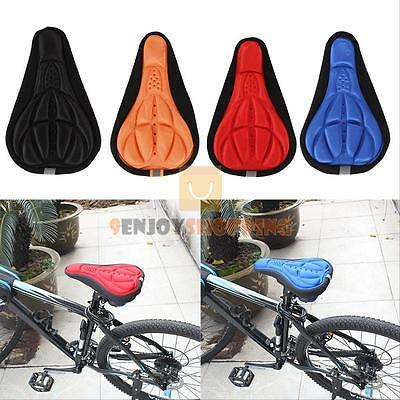 New MTB Road Bike Bicycle 3D Saddle Seat Cover Pad Padded Soft Cushion Comfort