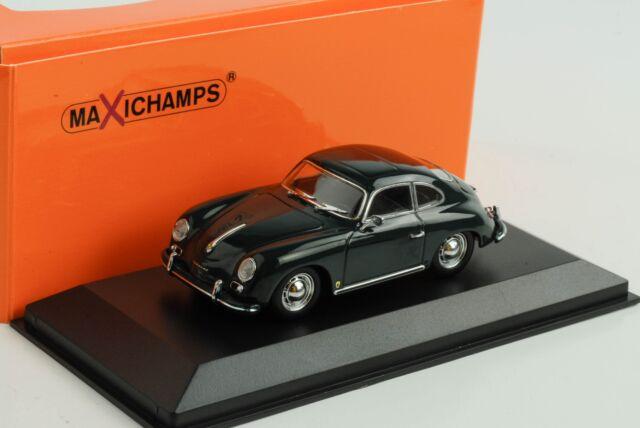 Porsche 356 A Coupe 1959 Dark Green 1:43 Minichamps Maxichamps