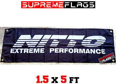 18x58 in Brand New Yamaha Flag Banner Performance Sports Car Garage