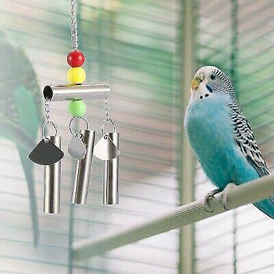 MASSIVE Parrot Bell Strong Metal Bird Toy Interactive Budgie Cockatiel Parakeet