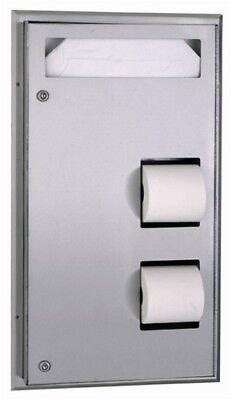 Bobrick B 347 Toilet Seat Cover Dispenser Amp Tissue