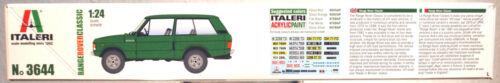 1979 Range Rover Classic  1:24 Italeri 3644