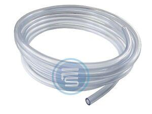 25m-PVC-Schlauch-Glasklar-Lebensmittelqualitaet-Wasserschlauch-Druckluftschlauch