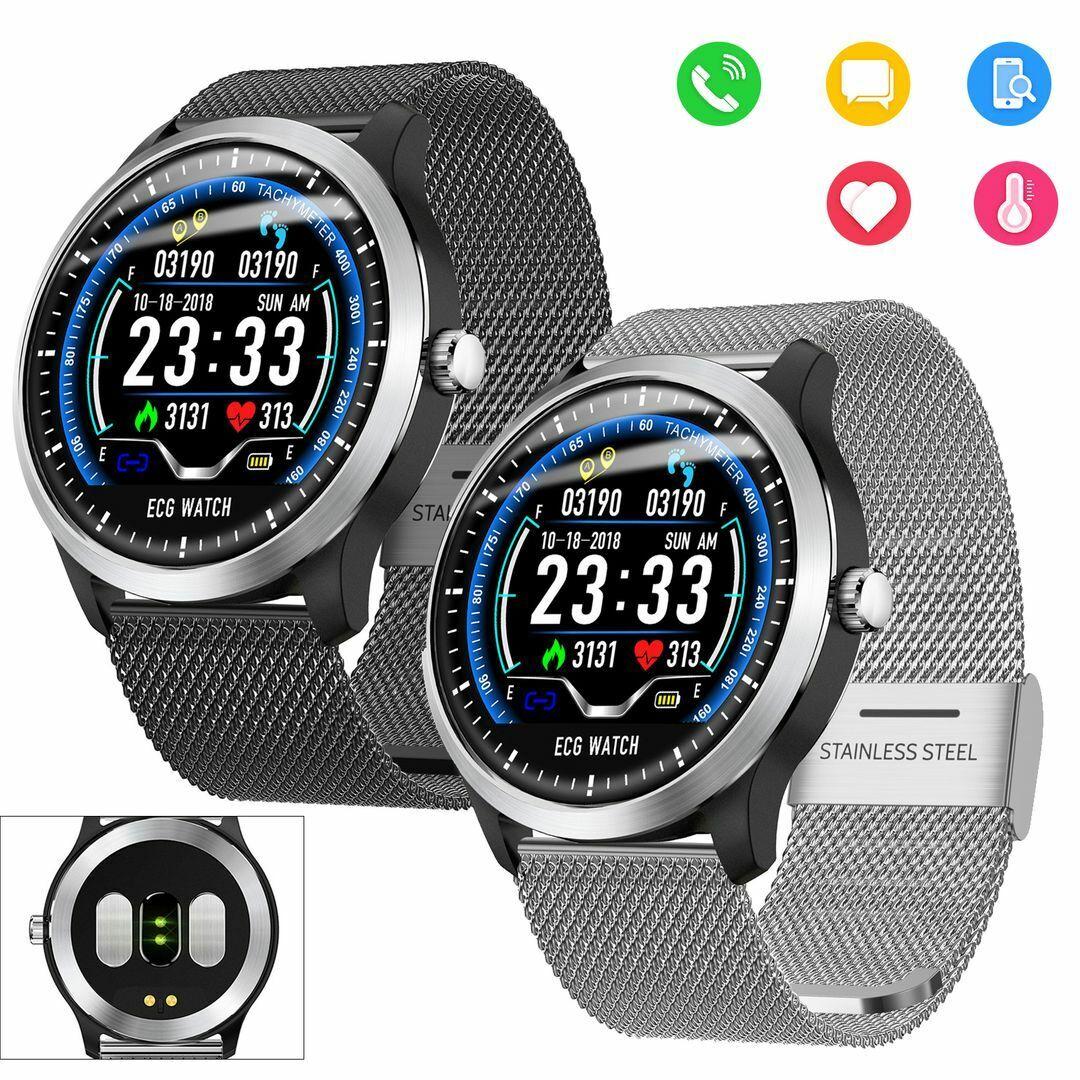 ECG Bluetooth Smart Watch Heart Rate Monitor Multi Sport Modes Fitness Tracker bluetooth ecg Featured heart modes monitor multi rate smart sport watch