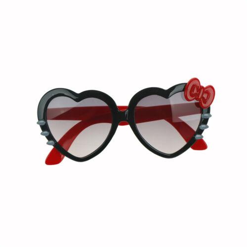 Kinder Mädchen Jungen Anti UV Bow Brille Sonnenbrille CartoonHerz Brille Mod W0