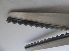 Brand New Stainless Steel Dressmaking Pinking Shears Craft Zig Zag Cut Scissors