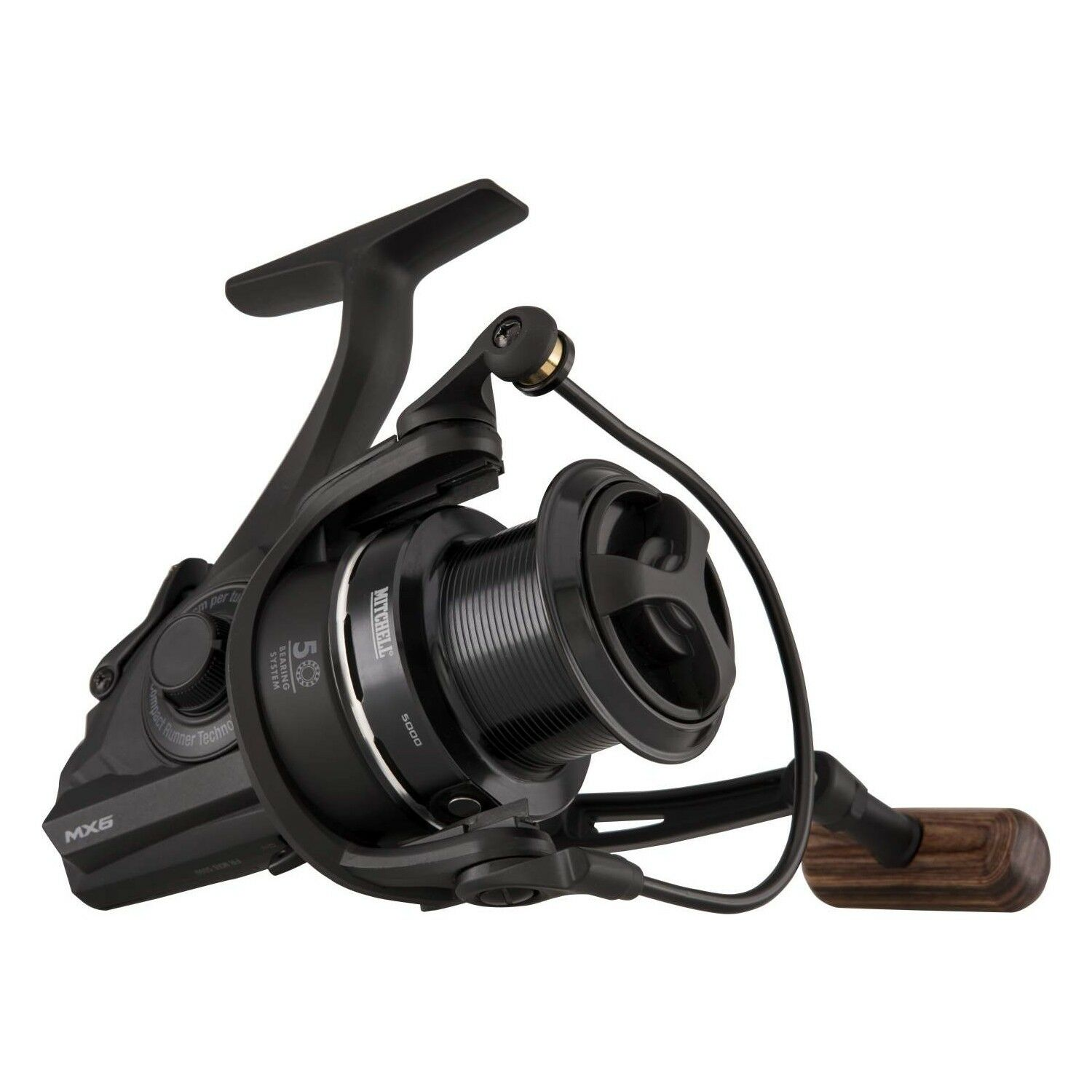 Mitchell NEW MX6 FULL RUNNER  Free Spool Carp Fishing Reel - All Sizes  is discounted