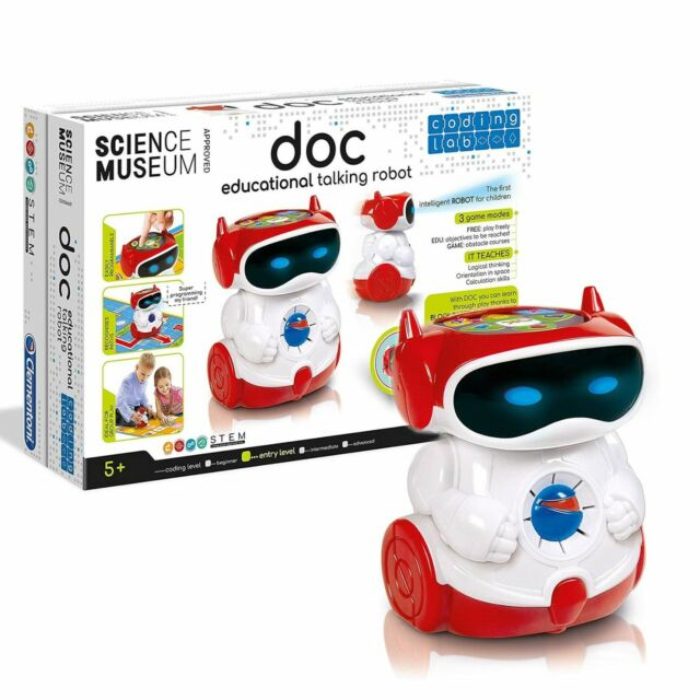 Clementoni 61323 Clementoni-61323-Doc Educational Smart Robot