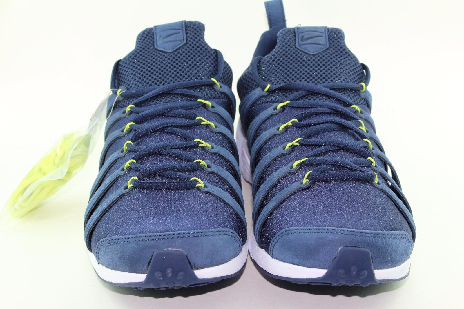 NIKE LAB AIR AIR AIR ZOOM SPIRIMIC MEN SIZE 11.0 MIDNIGHT NAVY NEW RARE LIGHT AUTHENTIC 9b4efb