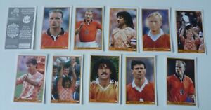 Panini Euro 2012 Dutch Legend Stickers Gullit, Van Basten, Koeman, Bergkamp