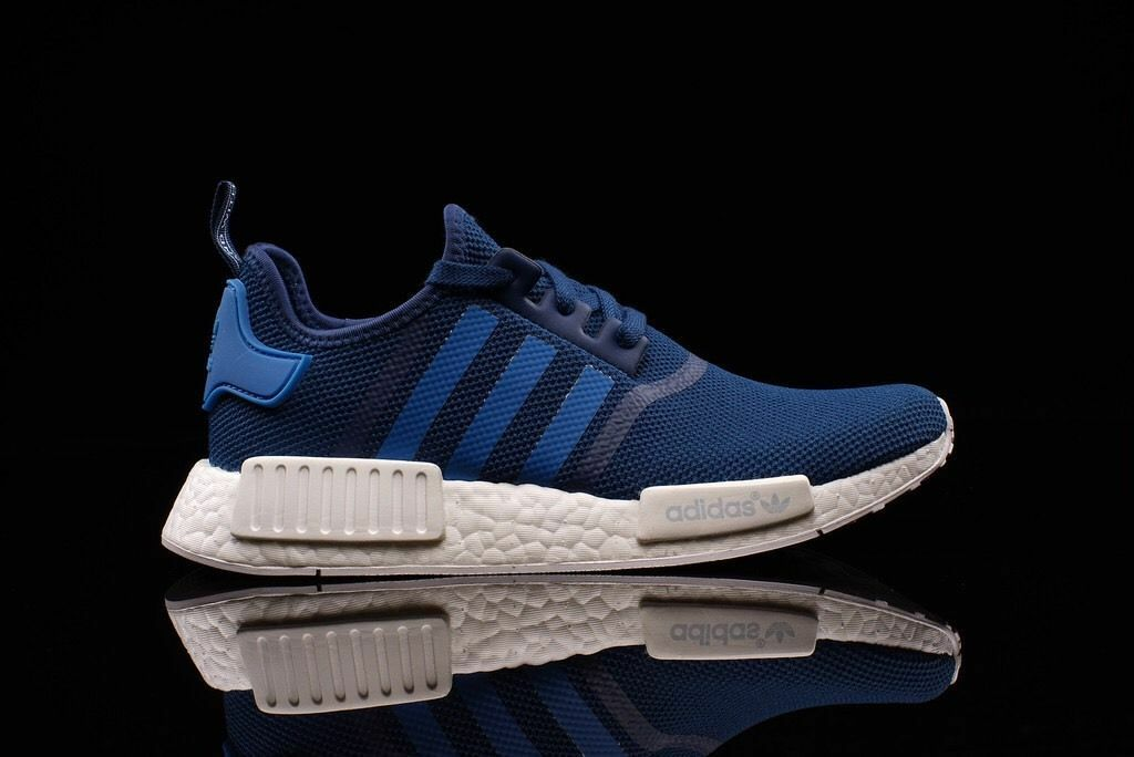 80e0a3591 R1 Steel bluee White Size 10. S31502 ultra boost pk yeezy Adidas NMD ...