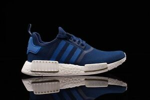 11d4d9860048e Adidas NMD R1 Steel Blue White Size 11. S31502 ultra boost pk yeezy ...