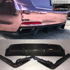 G4Werkz 3 Piece Legatia GT Front Diffuser Lip for Hyundai Genesis Sedan DH 15-17