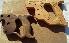 Vintage Wooden Hand Saw Handles
