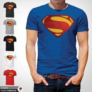 Image is loading MENS-SUPERMAN-T-SHIRT-CLASSIC-FIT-DC-COMICS- a2f8ce9105