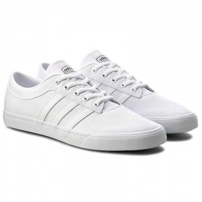 Adidas Originals Sellwood (BB8691) athlétique Sneakers Skateboard chaussures blanc