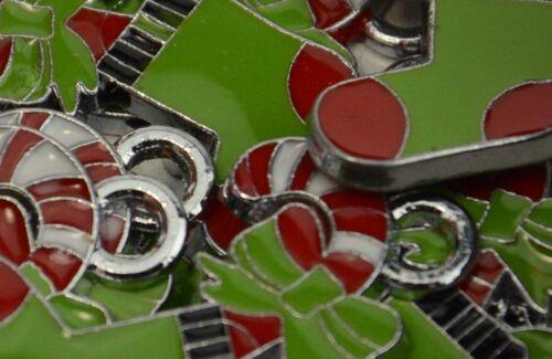 Pack of 5 Metal Stocking Christmas Pendant 171842-99