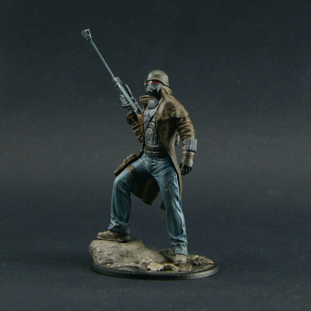 ProPainted Fallout 54mm New Vegas Sniper miniature