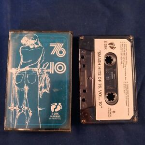 Cassette-Tape-Smash-Hits-of-76-Volume-10-Counterfeit-Two-Bare-Feet-Bootleg-1976