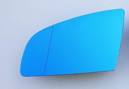 Para a3 a4 a6 espejo de cristal izquierda exterior asphärisch azul calentado muerto w.