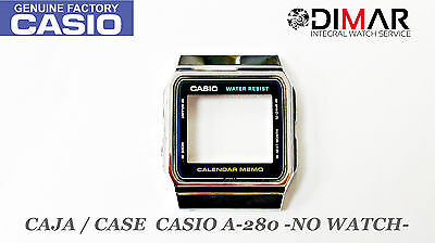 VINTAGE CASE//CAJA  CASIO A-159 NOS