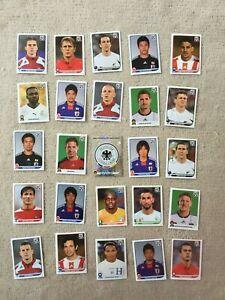 Konvolut-Panini-Sticker-Fussbal-WM-2010-25-Stueck-V