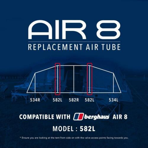 582L Tent Equipment New Berghaus Replacement Air Tube