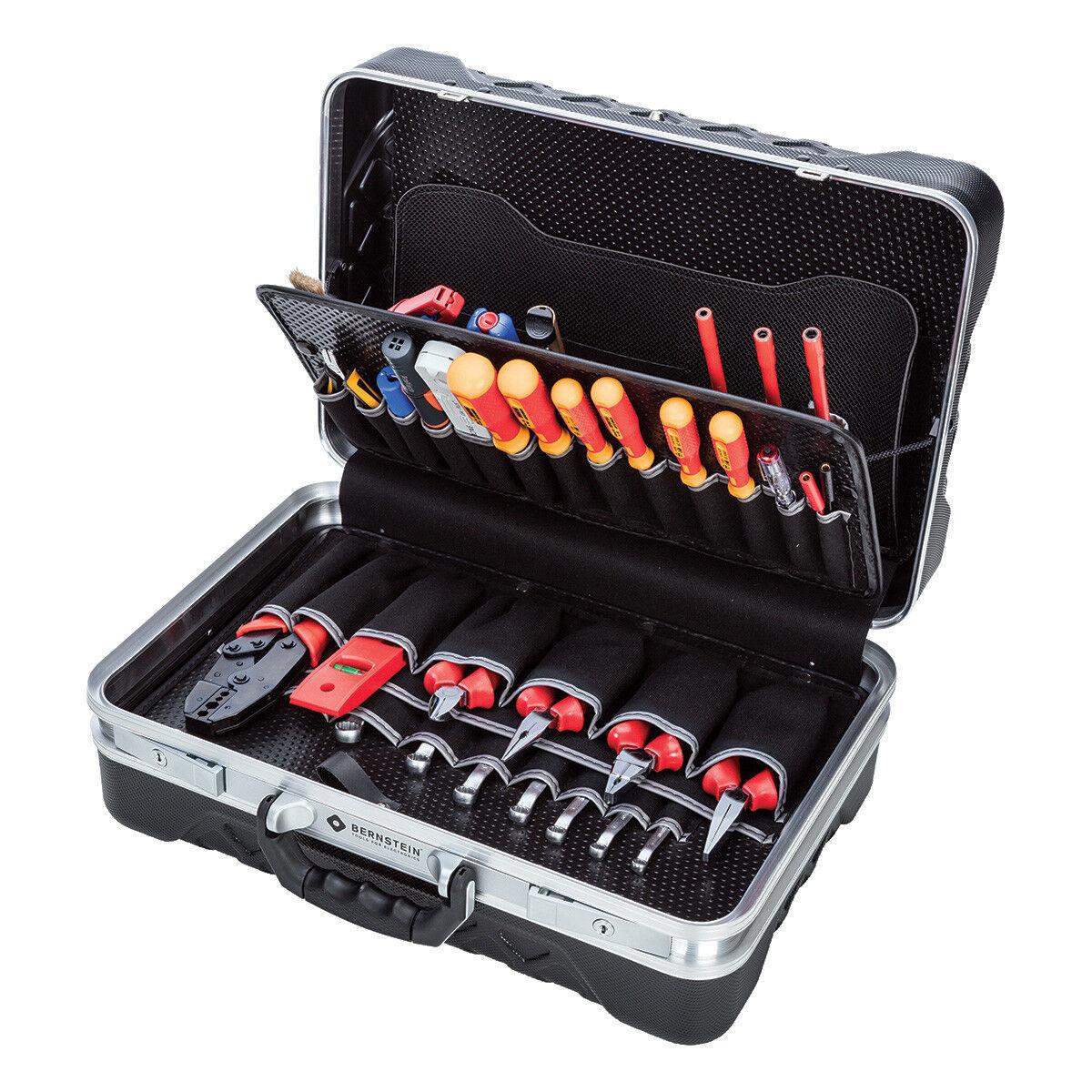 Werkzeugkoffer Werkzeugsatz Werkzeugset, 64-tlg.,Bernstein No. 6750