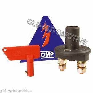 Staccabatteria a chiavetta bipolare disinserimento di sola batteria OMP EA/46O