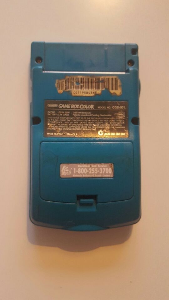 Nintendo Game Boy Color, God