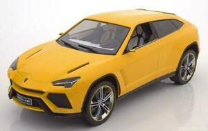 1-18-Model-Car-Group-Lamborghini-Urus-2012-yellow-metallic