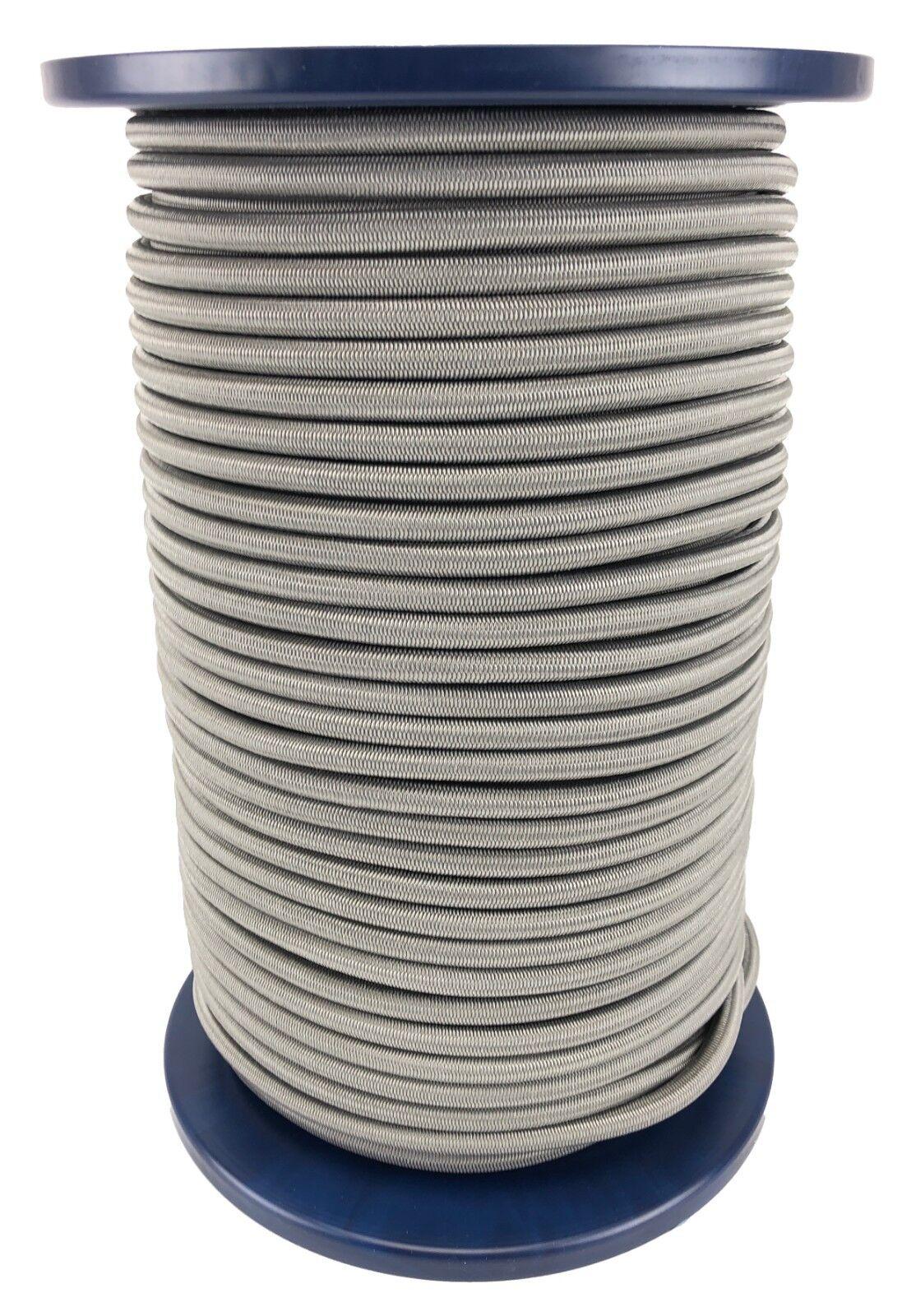 12mm gris Cuerda Elástica Cuerda Cuerda Elástica Anudable UV Estable