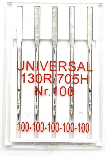 Nähmaschinennadel System 130R//705H Universal Nr 100